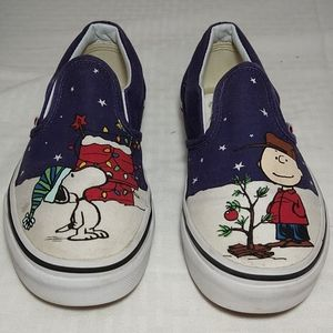 Vans classic slip ons peanuts edition Snoopy